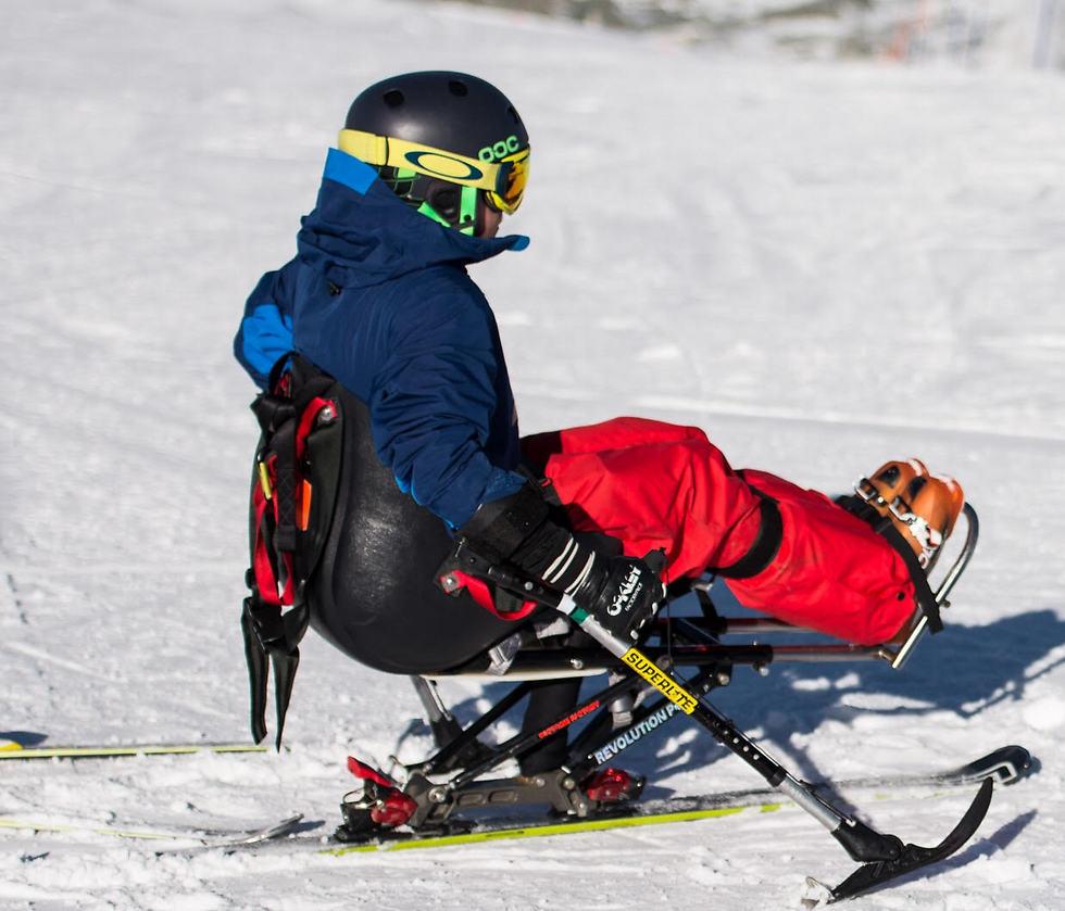 Photo: Guy Galboiz Ski School