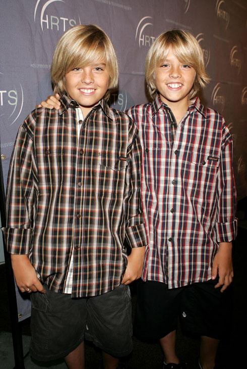 """התאומים ספראוס בגיל 13. """"אתה מפתח השקפת עולם מאוד מסוימת"""" (צילום: Gettyimages)"""