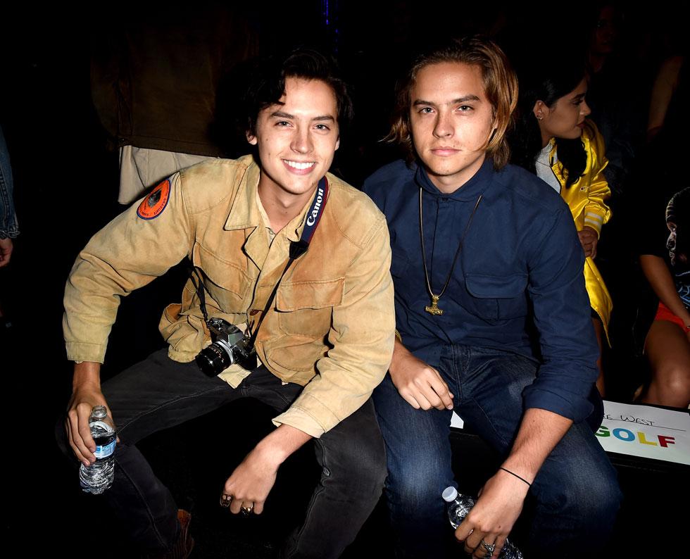 קול (משמאל) ודילן ספראוס, יוני 2016. אחד מהם נקלע לסיטואציה מביכה מאוד לפני כמה שנים (צילום: Gettyimages)