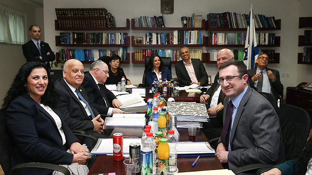 כינוס הוועדה לבחירת שופטים (צילום: אוהד צויגנברג) (צילום: אוהד צויגנברג)