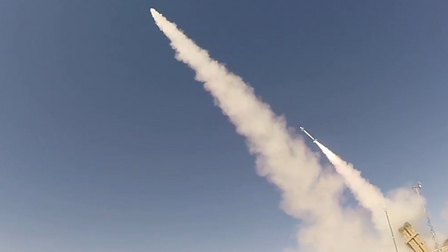 Multiple missiles fired simultaneously (Photo: Ministry of Defense) (Photo: Ministry of Defense)