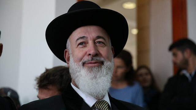 Rabbi Metzger (Photo: Amit Shabi)