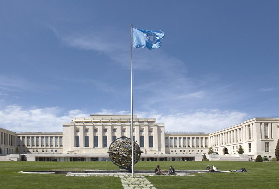 Дворец наций в Женеве, где с 1938 года располагалась штаб-квартира Лиги наций, а затем ООН. Фото: Shutterstock