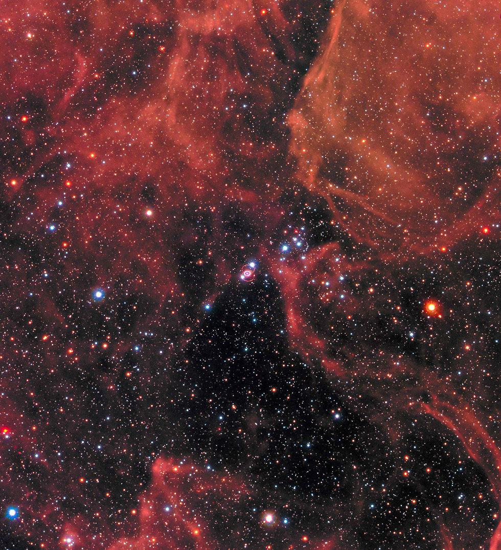 הסופרנובה העצומה זוהתה לראשונה ב-1987 (צילום: AFP / NASA / ESA)
