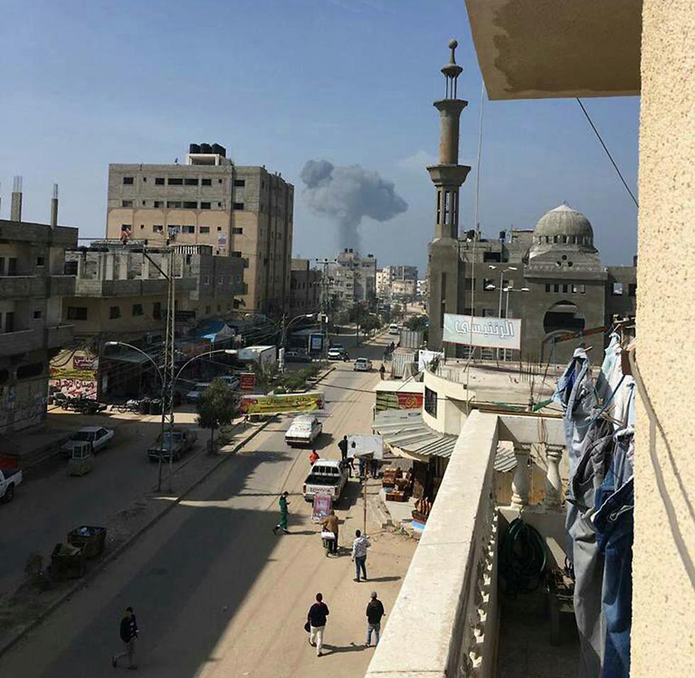 Gaza, Monday. Under Yahya Sanwar's leadership, Hamas' military wing is becoming more short-tempered