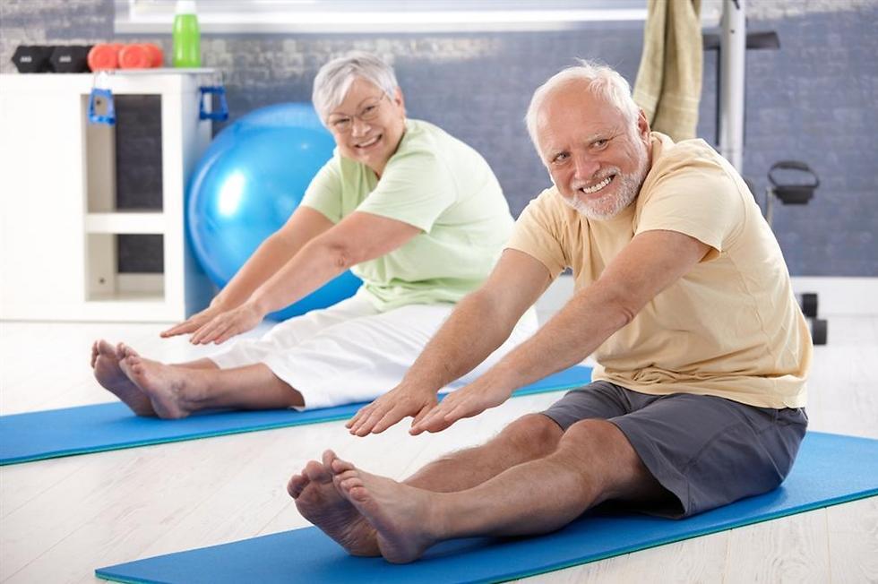 חשיבותה של הגמישות השרירית עולה עם הגיל