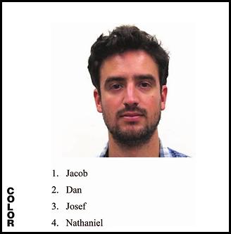 יעקב, דן, יוסף, נתנאל או בכלל גיא? (צילום: מתוך המחקר)