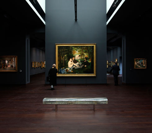 במוזיאון אורסיי בפריז, למשל (צילום: Tokujin Yoshioka)