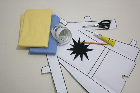 החומרים להכנת גיבור העל (צילום: חני הרשקוביץ')