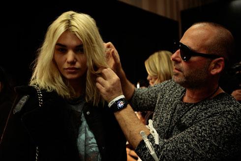 """""""חוויה חד פעמית"""". דניאל אייש בשבוע האופנה בניו יורק (צילום: בבוקשה הפקה)"""