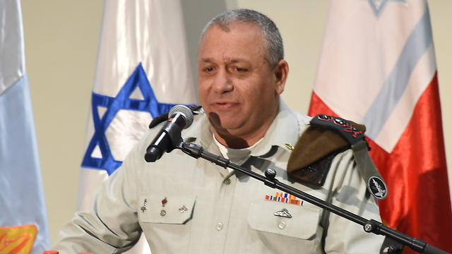 IDF Chief of Staff Eisenkot said the humanitarian situation in Gaza was precarious (Photo: Yair Sagi)