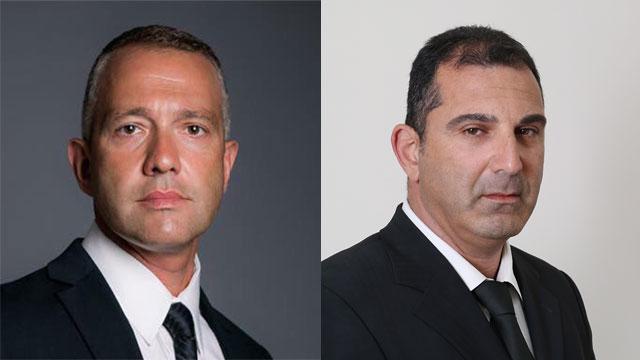 עורכי הדין נס בן נתן (מימין) וקובי מרגולוב (צילום: שאול גולן) (צילום: שאול גולן)