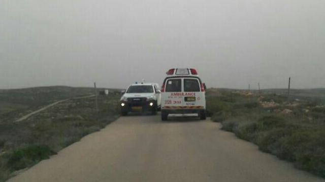 The scene of the attack (Photo: South Mt. Hebron Council)
