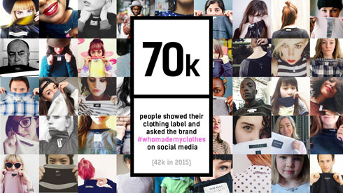מתוך הקמפיין WhoMadeMyClothes#  (מתוך fashionrevolution.org)