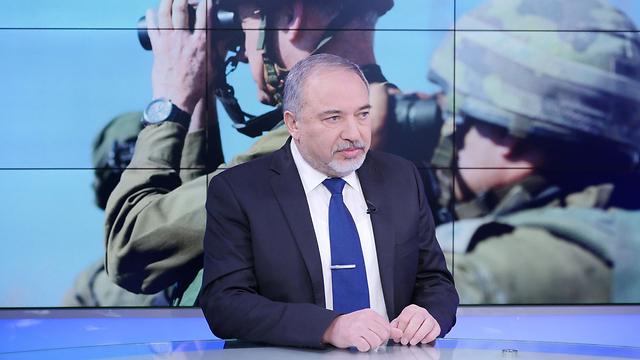 Defense Minister Avigdor Lieberman (Photo: Yaron Brener)