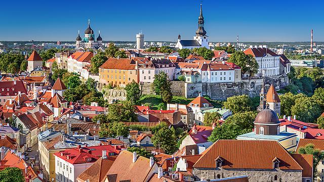 חזרה לימי הביניים במובן החיובי: טאלין בירת אסטוניה (צילום: DepositPhotos)