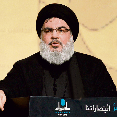 Hezbollah leader Nasrallah. 'Will get stronger when ISIS falls' (Photo: EPA)