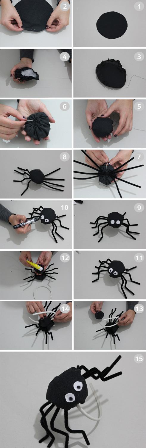 הכנת קשת עם עכביש (צילום: חני הרשקוביץ')