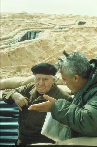 אריאל שרון ודוד בן-גוריון