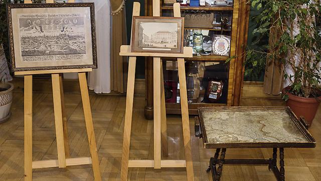 The returned works of art (Photo: EPA) (Photo: EPA)