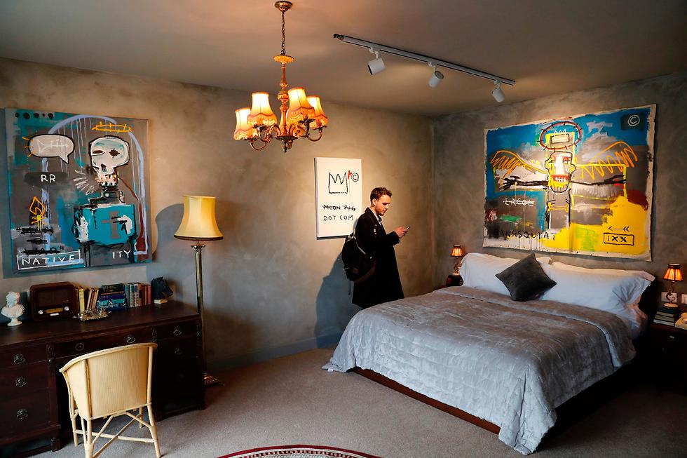 החל מ-30 דולר ללילה. אחד החדרים במלון (צילום: AFP) (צילום: AFP)