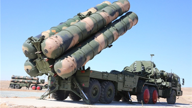 An Iranian S-330 anti-aircraft system. In Syria soon?