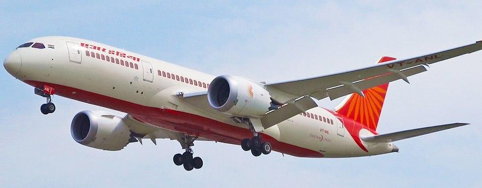 מטוס הדרימליינר של אייר אינדיה ()