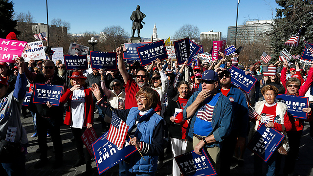 Support rally in Denver, Colorado (Photo: AP)