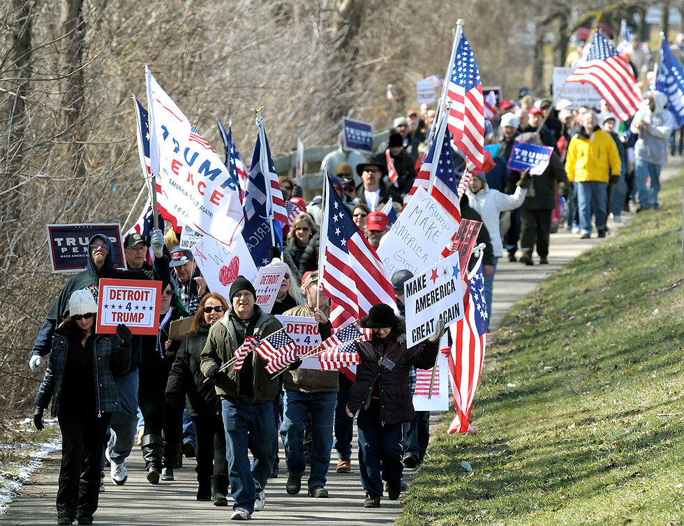 Support rally in Michigan (Photo: AP)