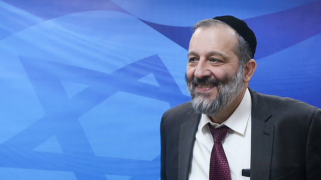 Minister of the Interior, Aryeh Deri (Photo: Mark Yisrael Salem) (Photo: Mark Yisrael Salem)