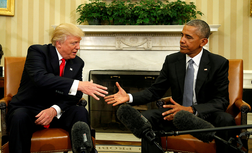 Trump and Obama meeting in the White House after the elections (Photo: Reuters)