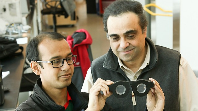 המדענים מציגים את המשקפיים. יתחילו לשווק כבר תוך 3 שנים ( )
