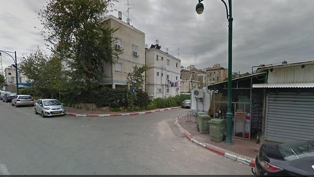 רחוב שלם, המצב הקיים של הבניינים שיפונו (צילום: הדמיה) (צילום: הדמיה)