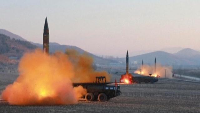 North Korea missile launch (Photo: AP)
