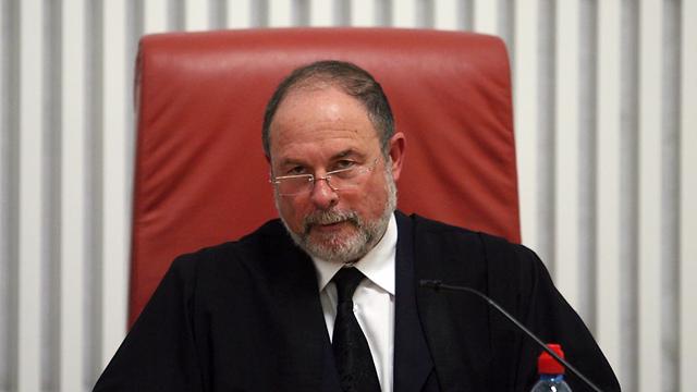 Justice Yoram Danziger (Photo: Gil Yohanan)