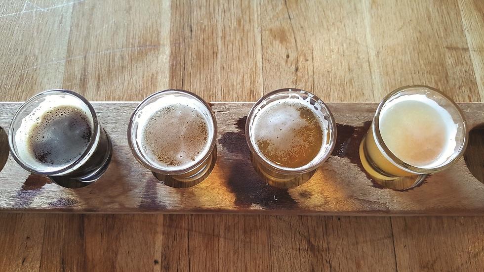 """מתחילים בטעימות. בירה Soof, """"המבשלה"""", אילת (צילום: צביקה בורג)"""