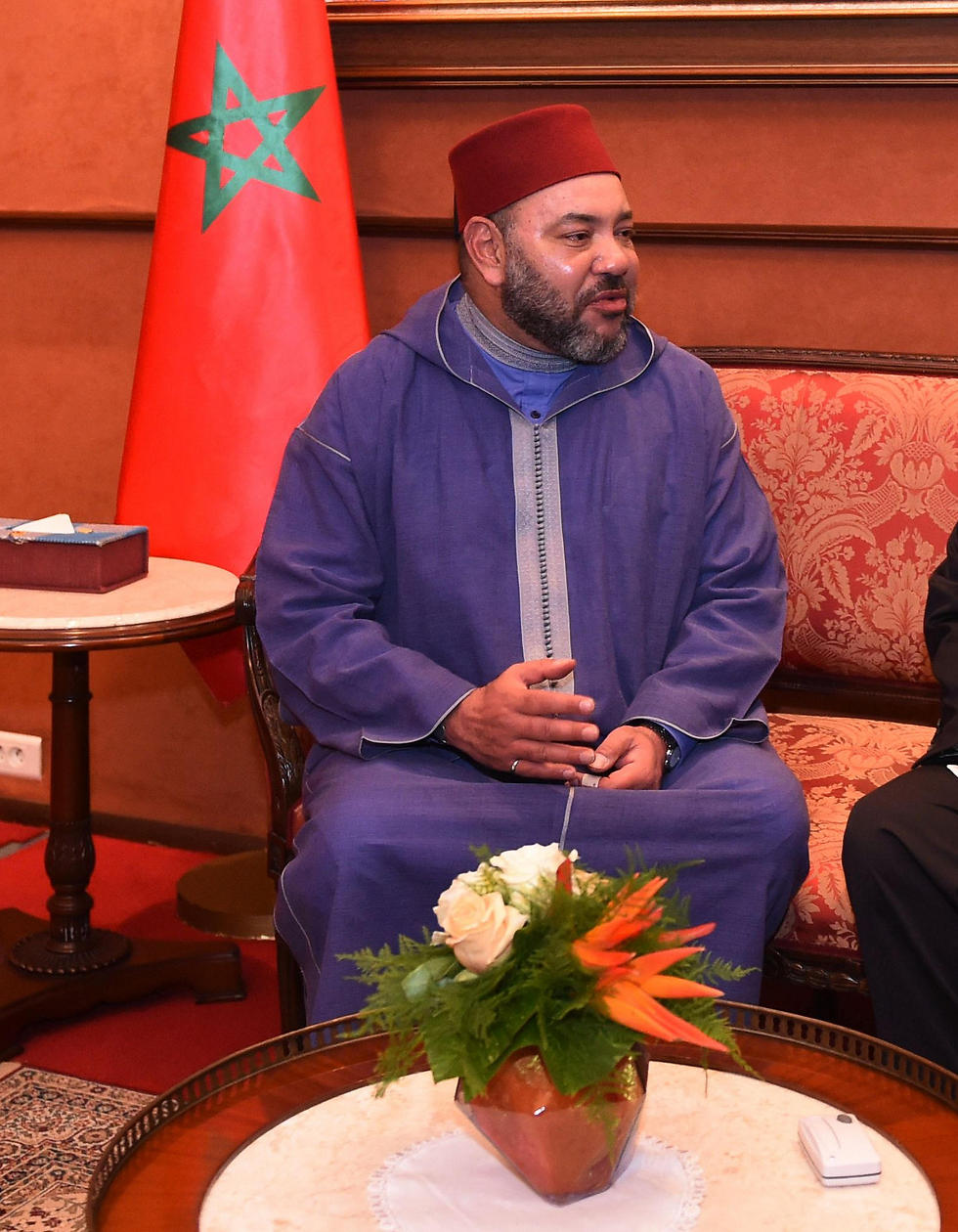 מלך מרוקו מוחמד השישי. הסכמים עם חברת התעופה (צילום: AFP) (צילום: AFP)