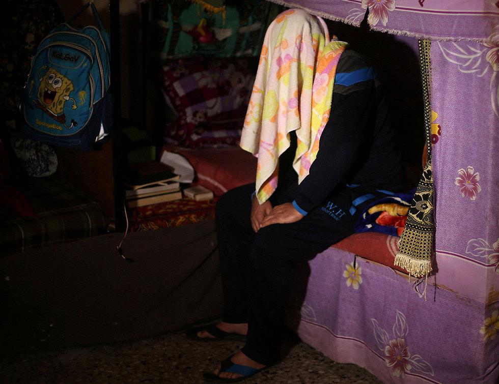 Gazan drug smuggler (Photo: Reuters)