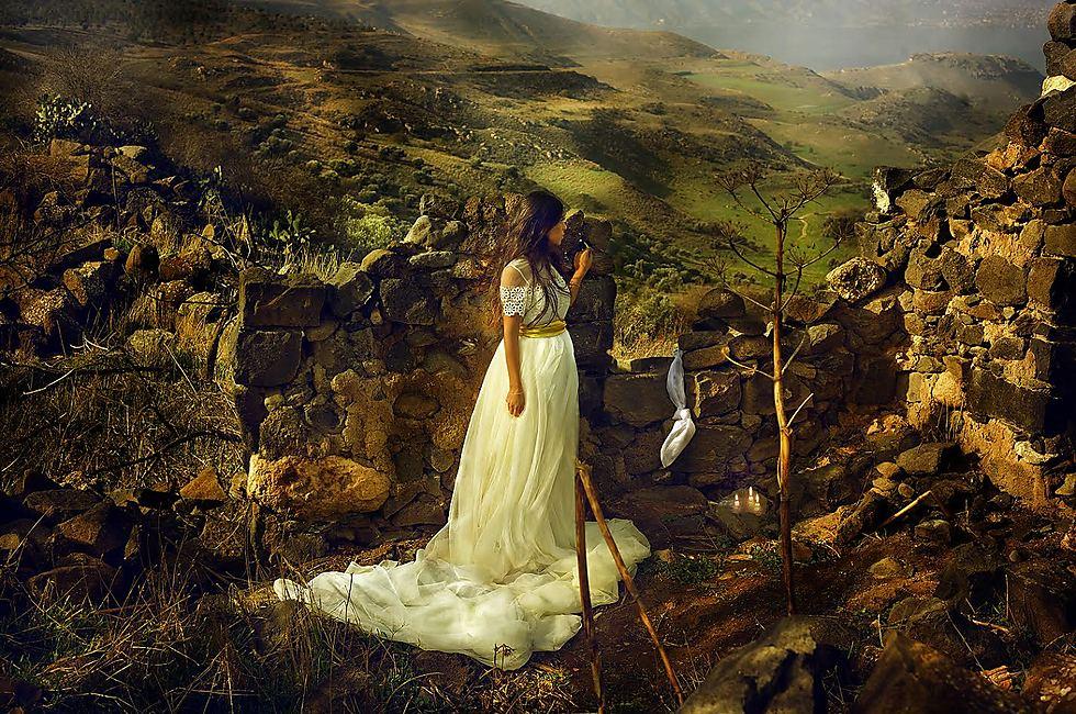 מיכל בת שאול אשת דוד (צילום: דיקלה לאור) (צילום: דיקלה לאור)