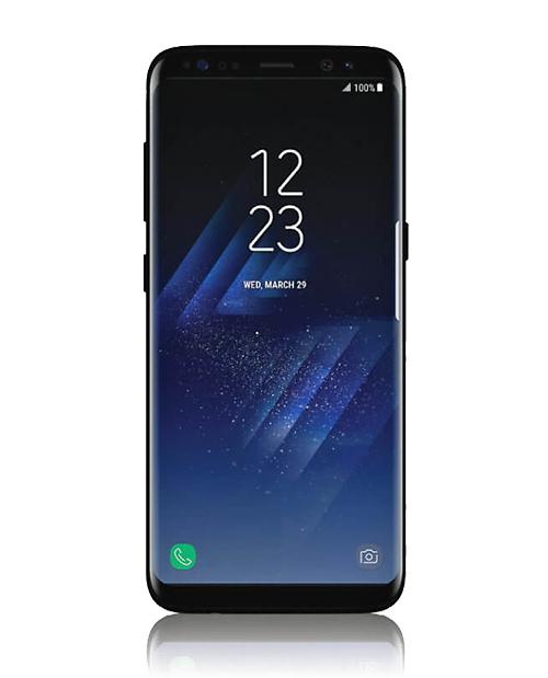 כך יראה המכשיר: Galaxy S8 (צילום מסך)