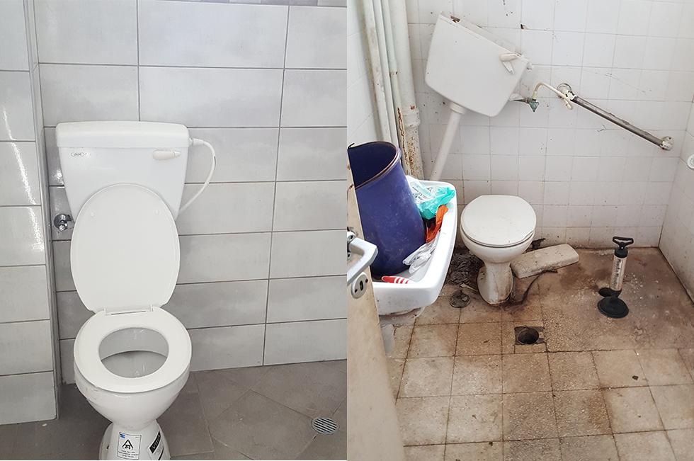 ממקום שלא שייך להשתמש בו לשירותים נעימים ומרווחים (צילום: באדיבות עמידר החדשה) (צילום: באדיבות עמידר החדשה)