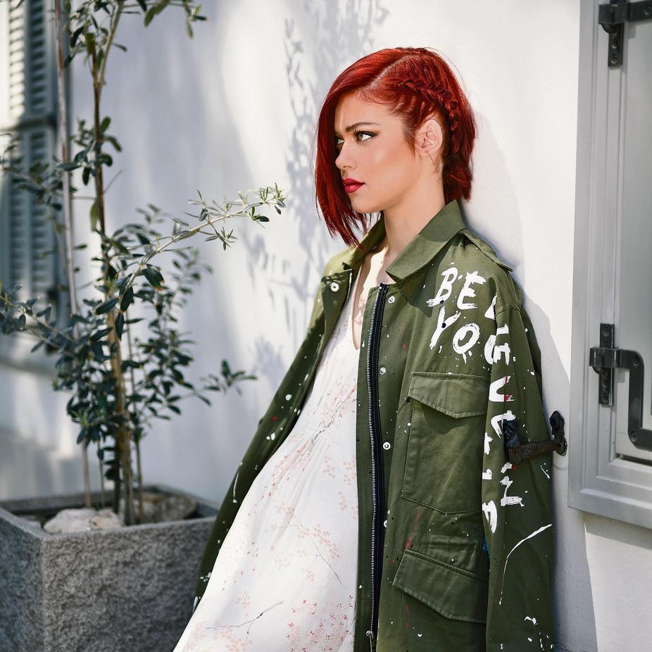 שמלה: נומרו 13מעיל: זארה