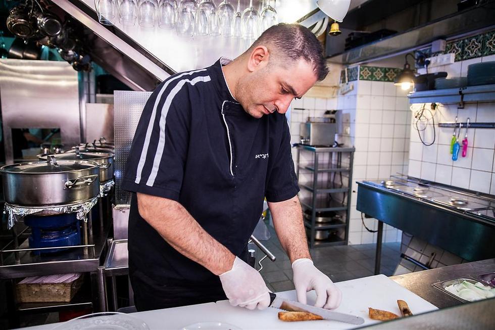 שף אבי לוי (צילום: דניאל אליאור)