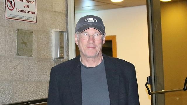 Richard Gere in Israel (Photo: Avi Moalem)