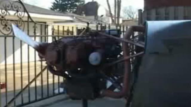 מנוע המטוס שבנתה פסטרסקי ()