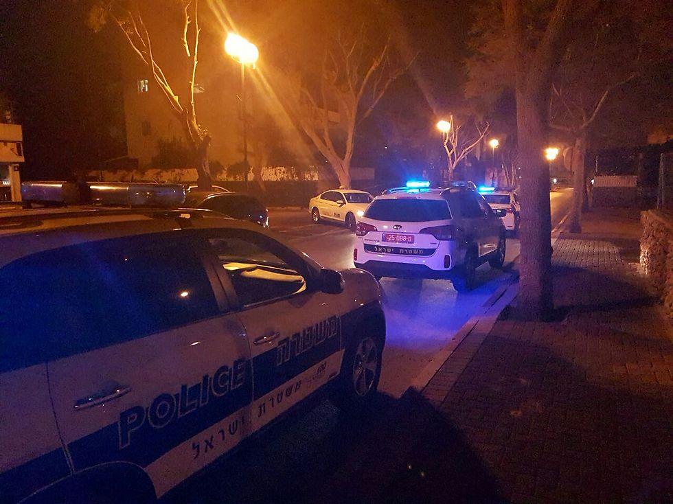 Police cruisers (Photo: Barak Haklai) (Photo: Barak Haklai)