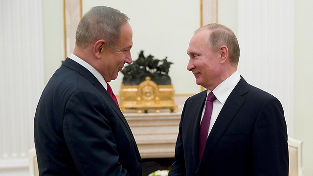 Netanyahu and Putin meet in Moscow (File photo: EPA) (Photo: EPA)