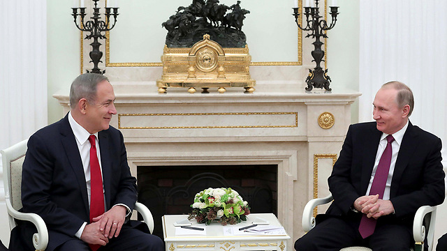 Netanyahu and Putin meet in Moscow (Photo: Reuters) (Photo: Reuters)
