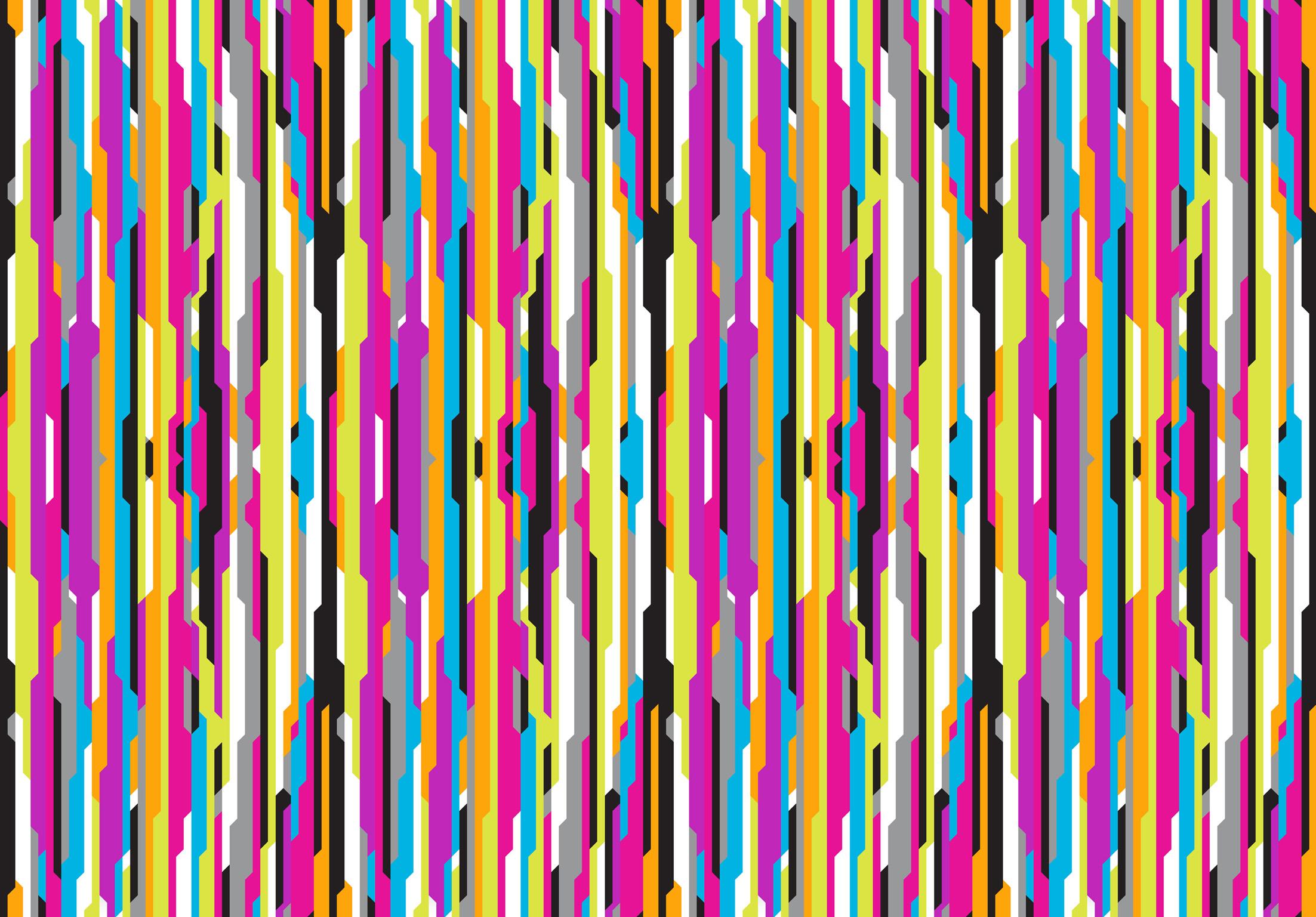 """טפט בעיצוב קארים ראשיד, למי שרוצה להתפרע עם צבעוניות.  (צילום: יח""""צ, באדיבות Wall & Paper ברעם) (צילום: יח"""