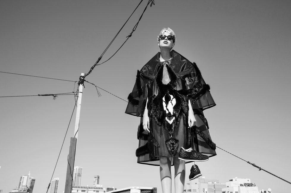 שמלה, דני מריאש (צילום: איתן טל)